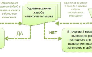 Оспаривание решения налоговой в апелляционной инстанции