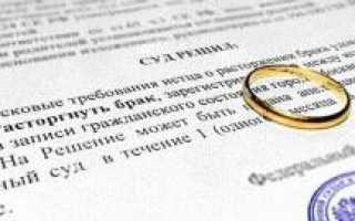 Нужно ли разводиться в суде, если нет детей